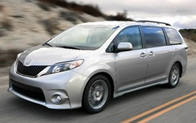 The Toyota Sienna minivan.