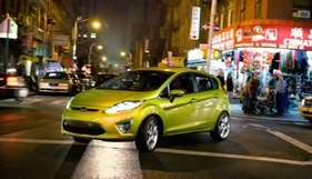 Ford's upcoming subcompact Fiesta. (Photo courtesy of Ford Motor Co.)