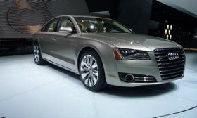 The Audi A8. (Photo courtesy of AutoWeek.)