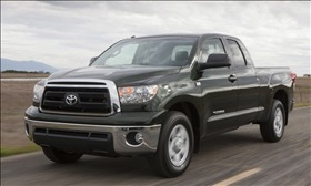 The 2010 Toyota Tundra. (Photo courtesy of Toyota.)
