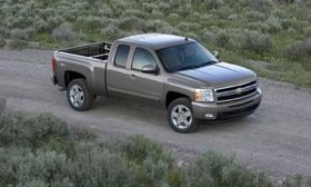 GM's next-generation V8s will be used in vehicles such as the Chevrolet Silverado pickup, shown.
