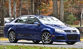 The Volkswagen Jetta TDI. (Photo courtesy of Volkswagen.)
