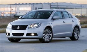 The Suzuki Kizashi is among the vehicles that qualify for the
