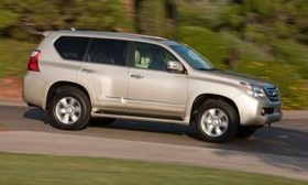 Lexus dealers will upgrade the stability-control software in the 2010 GX 460 SUV. (Photo courtesy of AutoWeek.)