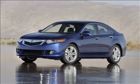 The Acura TSX, currently under recall. (Photo courtesy of Acura.)