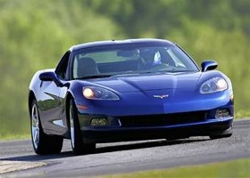 Some 2005-06 Corvettes are being recalled for a steering-column problem. (Photo courtesy of Chevy.)