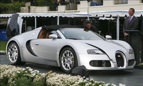 The Bugatti Veyron Grand Sport. (Photo by Bruce Whitaker, from MSN Autos.)