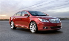 The Buick LaCrosse. (Photo courtesy of Buick.)