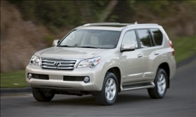The Lexus GX 460. (Photo courtesy of Toyota Motor Corp.)