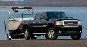 Denali trim will be extended to more versions of the Sierra 3500 and 2500 for 2011 models. The new line of heavy-duty trucks launches this summer. (Photo courtesy of GMC.)