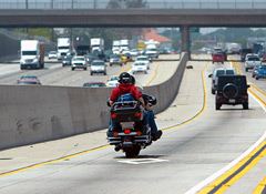 Antilock brakes significantly reduce fatal motorcycle crashes. (Photo courtesy of Consumer Reports.)