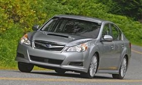 The 2010 Subaru Legacy. (Photo courtesy of Subaru.)