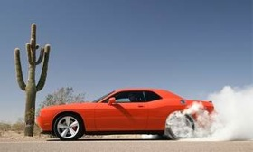 The 2010 Dodge Challenger. (Photo courtesy of Chrysler.)