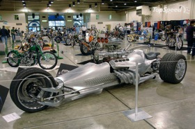 The Blastolene Hemi-powered Trike. (Photo via Autoblog.)