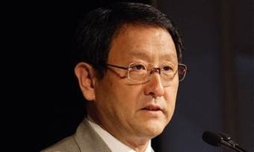 Toyota CEO Akio Toyoda. (Photo courtesy of AutoWeek.)