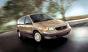 The 2003 Ford Windstar minivan. (Photo courtesy of Ford.)