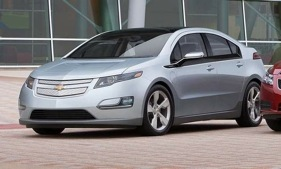 The Chevy Volt electric vehicle. (Photo courtesy of Chevrolet.)
