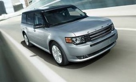 The 2011 Ford Flex Titanium. (Photo courtesy of Ford.)