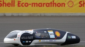 Team PolyJule's winning hydrogen-powered concept. (Photo from Gizmag.com.)