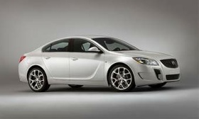 The Buick Regal GS. (Photo courtesy of Buick.)
