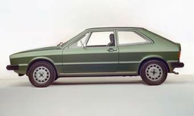 The first-generation Volkswagen Scirocco was one of several designs penned by Giugiaro for VW. (Photo courtesy of AutoWeek.)