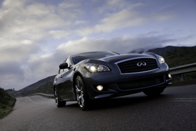 The 2011 Infiniti M. (Photo courtesy of Infiniti.)