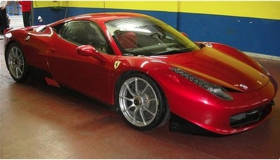 (Possibly) the Ferrari 458 Italia Challenge. (Photo from Axis of Oversteer.)