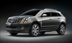 The 2010 Cadillac SRX. (Photo courtesy of GM.)