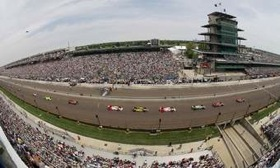 The Indianapolis 500 is a great place to spend the weekend. (Image by LAT Photographic.)