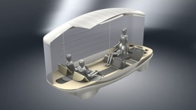 The SheLL concept, from SAIC. (Image from Gizmag.com.)