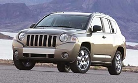 The Jeep Compass. (Photo courtesy of Chrysler.)