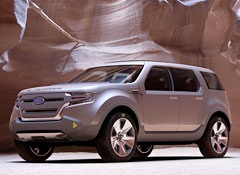 The Ford Explorer America concept. (Photo courtesy of Ford.)