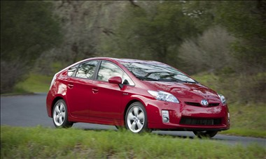 2010 Toyota Prius (Photo courtesy of Toyota).