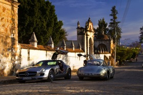 The 2011 Mercedes-Benz SLS AMG. (Photo courtesy of Mercedes-Benz.)