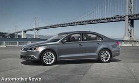 The 2011 Volkswagen Jetta. (Photo from Automotive News.)