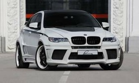 The Lumma CLR X 650 M is the end result of Lumma Design's BMW X6 redesign. (Photo from AutoWeek.)