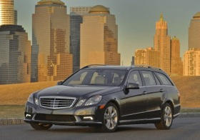 The 2011 Mercedes-Benz E350 4Matic Wagon. (Photo courtesy of Mercedes-Benz.)