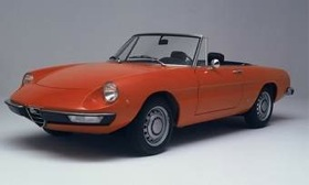 The Alfa Romeo Spider is a traditional favorite of enthusiasts. (Photo courtesy of Alfa Romeo.)