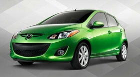 The 2011 Mazda2. (Photo from Automotive News.)
