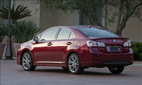 The Lexus HS 250h. (Photo courtesy of Lexus.)