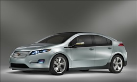 The Chevy Volt. (Image courtesy of General Motors.)