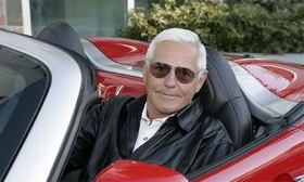 Former General Motors vice chairman Bob Lutz, shown at the wheel of a Pontiac Solstice, could be tapped as an adviser to British sports-car maker Lotus. Former BMW exec Tom Purves could also join the company in an advisory role. (Photo courtesy of General Motors.)