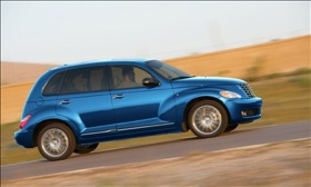 The Chrysler PT Cruiser. (Photo courtesy of Chrysler.)