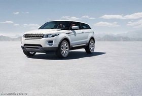 The Land Rover Evoque. (Photo from Automotive News.)