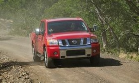 The 2010 Nissan Titan. (Photo courtesy of Nissan.)