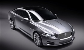 The Jaguar XJ. (Photo courtesy of Jaguar.)