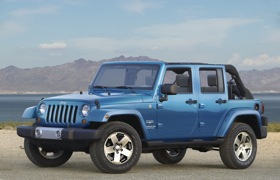 The Jeep Wrangler is eligible for the 60-day return policy. (Photo courtesy of Chrysler.)