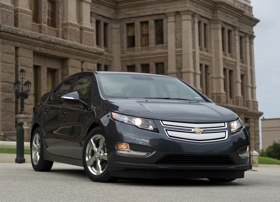 The Chevy Volt. (Photo courtesy of General Motors.)