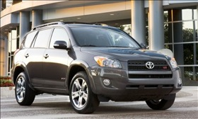 The Toyota RAV4. (Photo courtesy of Toyota.)