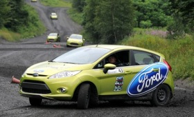The Ford Fiesta Rally Experience. (Photo from Car and Driver blog.)